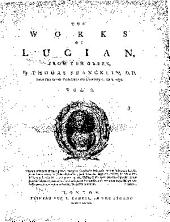 The Works of Lucian: From the Greek, Volume 2