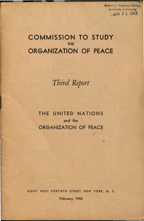 The United Nations and the Organization of Peace PDF
