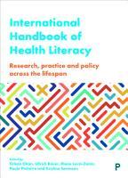 International Handbook of Health Literacy PDF
