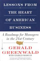 Lessons from the Heart of American Business PDF