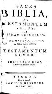 Biblia sacra sive Testamentum Vetus