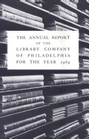The Annual Report of the Library Company of Philadelphia for the year 1969