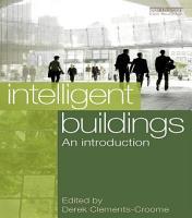 Intelligent Buildings  An Introduction PDF