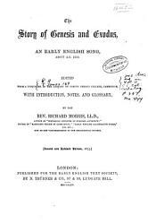 The story of Genesis and Exodus PDF