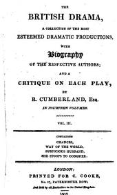 Comedy of the Chances with the Life of the Author, and a Critique by Richard Cumberland: Volume 3