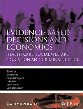 Evidence based Decisions and Economics PDF