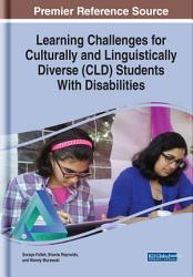 Learning Challenges for Culturally and Linguistically Diverse  CLD  Students With Disabilities PDF
