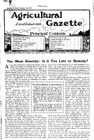 The Agricultural Gazette and Modern Farming PDF