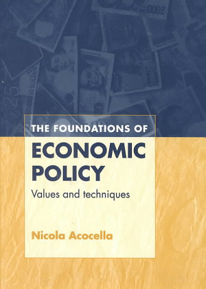 The Foundations of Economic Policy PDF