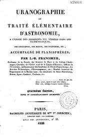 Uranographie ou traité élémentaire d'astronomie