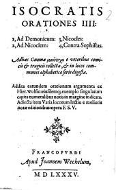 Orationes IIII