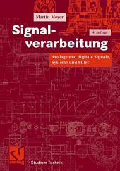 Signalverarbeitung: Analoge und digitale Signale, Systeme und Filter, Ausgabe 4