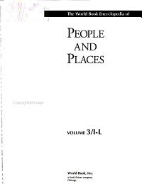 The World Book Encyclopedia of People and Places  I L   Iceland to Luxembourg
