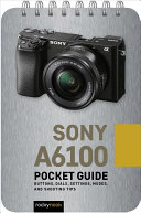 Sony A6100  Pocket Guide Book