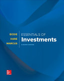 Loose Leaf for Essentials of Investments Book