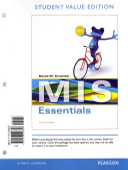 MIS Essentials  Student Value Edition PDF