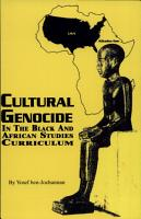 Cultural Genocide in the Black and African Studies Curriculum PDF