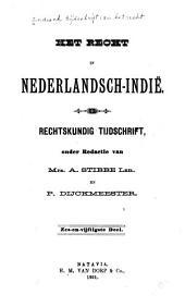 Indisch tijdschrift van het recht: orgaan der Nederlandsch-Indische juristen-vereeniging, Deel 56