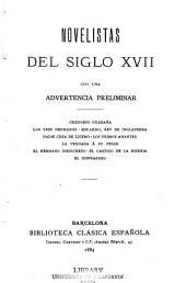 Novelistas del siglo XVII