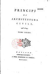 Principi di architettura civile...