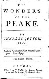 The wonders of the Peake: By Charles Cotton