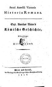 """Sext. Aurelius Victor's"" Römische Geschichte"