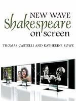 New Wave Shakespeare on Screen PDF