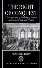 The Right of Conquest PDF
