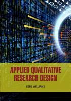Applied Qualitative Research Design PDF