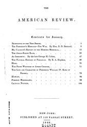 The American Review: A Whig Journal of Politics, Literature, Art, and Science, Volume 1; Volume 7
