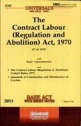 The Contract Labour Regulation And Abolition Act 1970 Book PDF