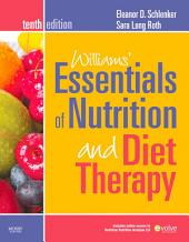 Williams' Essentials of Nutrition and Diet Therapy - Revised Reprint - E-Book: Edition 10