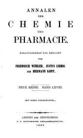 Annalen der Pharmacie: Band 144