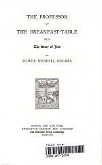 Writings Oliver Wendell Holmes: Volume II