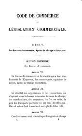Commentaire du Code de commerce et de la législation commerciale: Des bourses de commerce et des contrats commerciaux, Volume2