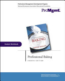 Professional Baking  Student Workbook