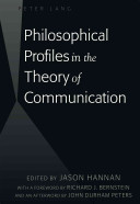 Philosophical Profiles in the Theory of Communication PDF