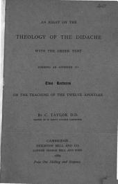 An Essay of the Theology of the Didache