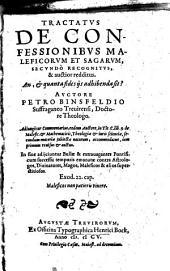 Tractatus de confessionibus maleficorum et sagarum