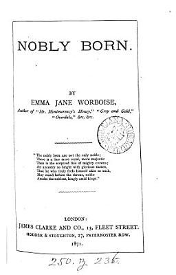 Nobly Born PDF