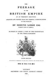 The Peerage of the British Empire as at present existing