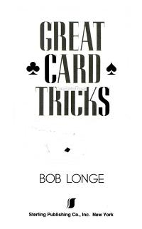 Great Card Tricks PDF