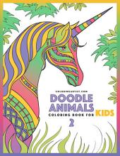 Doodle Animals Coloring Book for Kids 2