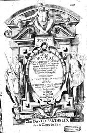 Les oeuvres d' André Du Laurens, trad. du latin en français par Théophile Gelée