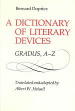 A Dictionary of Literary Devices