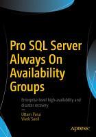 Pro SQL Server Always On Availability Groups PDF