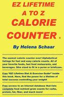EZ Lifetime A to Z Calorie Counter PDF