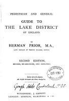Pedestrian and general guide to the Lake district PDF