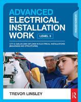 Advanced Electrical Installation Work  7th ed PDF