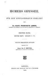 bd., 2. hft. Gesang VII-XII. 8. berichtigte aufl. 1889